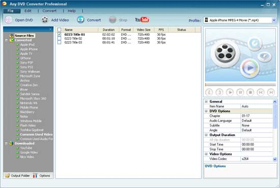 Browse DVD folder copied by the free DVD copying tool named DVDSmith Movie Backup.