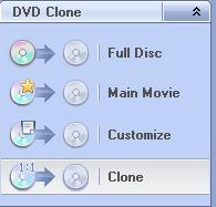 Any DVD Cloner Platinum:DVD clone