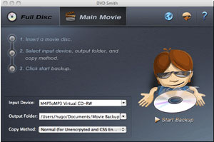 DVDSmith DVD Clone: Backup movie DVD to computer