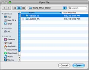 DVDSmith, a free DVD copying tool, copies DVD to hard drive as DVD folder.