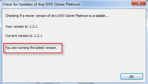 How to update my DVD cloner software to the latest version?