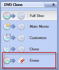 erase DVD with platinum