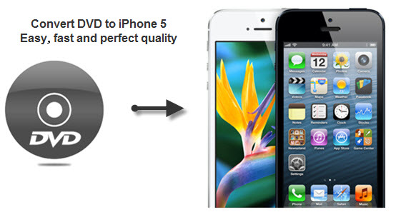 DVD to iPhone 5 Converter