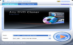 Main window of Any DVD Cloner Express