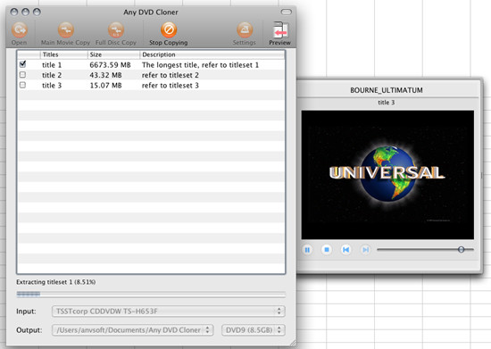 any dvd cloner for mac preview window