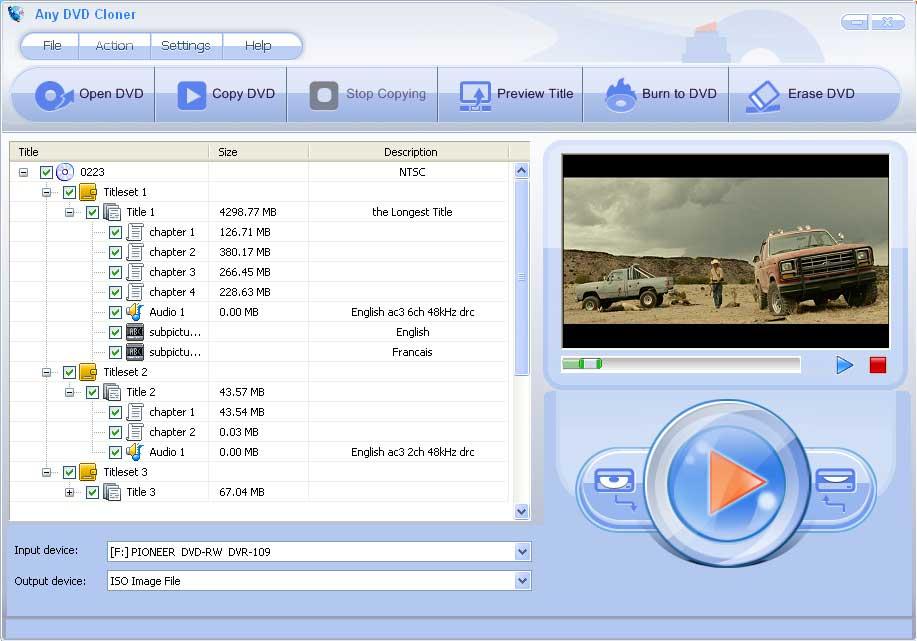 Windows 7 Any DVD Cloner 1.4.4 full